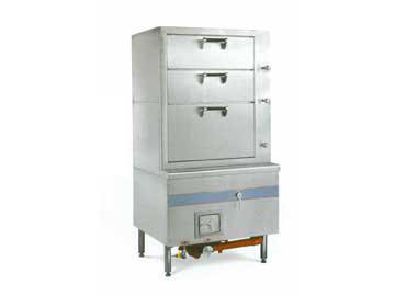 海鲜蒸柜(燃气或燃油)